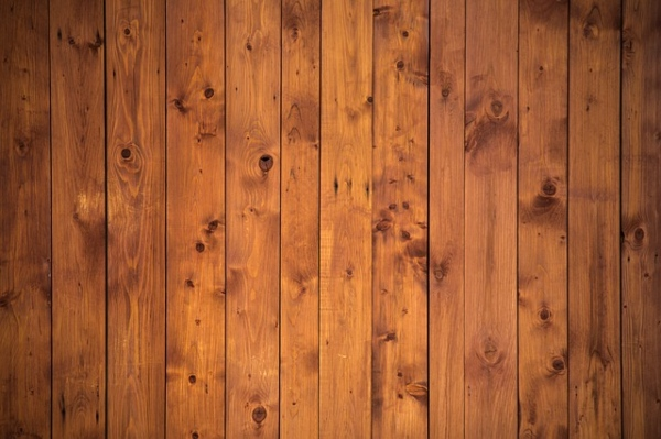 close up of new brown hardwood floor